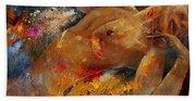 Nude 67 0407 Beach Towel