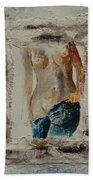 Nude 674521 Beach Towel