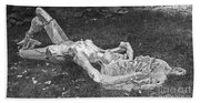 Nude In The Park Beach Towel