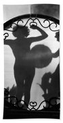 Nude Shadow, 1920s Beach Towel