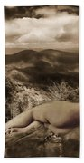 Nude Sunbather Beach Towel