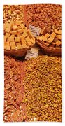 Nuts And Candy Beach Towel