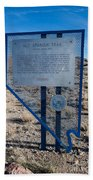Nv-142 Old Spanish Trail Mountain Springs Pass Beach Towel
