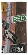 Nyc Broadway 1 Beach Towel by Debbie DeWitt