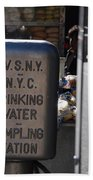 Nyc Drinking Water Beach Towel
