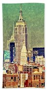 Nyc Scaped Beach Towel