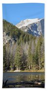 Nymph Lake In Rocky Mountain National Park Beach Towel
