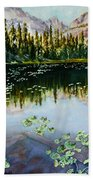 Nymph Lake Beach Towel