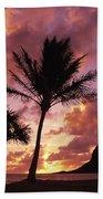 Oahu, Mokolii Island Beach Towel