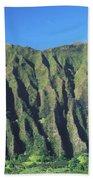 Oahu Rugged And Lush Beach Towel