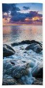 Oahu Shoreline Beach Towel