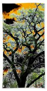Oak Oasis Beach Towel