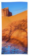 Oasis Tree Shadow Beach Towel