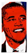 Obama Hope Beach Towel
