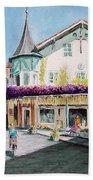 Oberammergau Street Beach Towel
