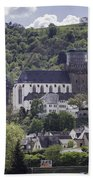 Oberwesel Old And New Beach Towel
