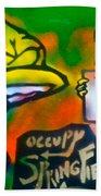 Occupy Springfield Beach Towel