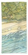 Ocean 3 Beach Towel