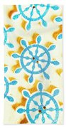 Ocean Circles Beach Towel