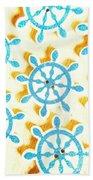 Ocean Circles Beach Towel