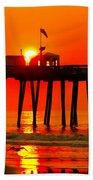 Ocean City Sunrise Beach Towel