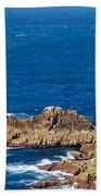 Ocean Cliffs Beach Towel