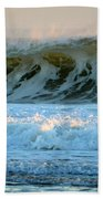 Ocean Energy At Sunrise Beach Towel