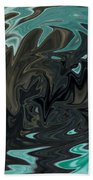Ocean Fury Beach Towel