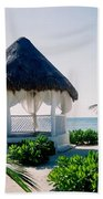 Ocean Gazebo Beach Towel