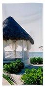 Ocean Gazebo Beach Towel