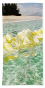 Ocean Lei Beach Towel