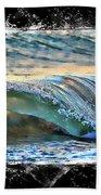 Ocean Motion Beach Towel