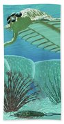 Ocean Opabinia Beach Towel
