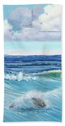 Ocean Pyramid Beach Towel