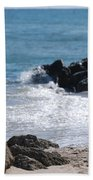Ocean Rocks Beach Towel