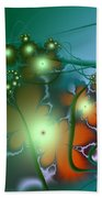 Ocean Secrets Abstract Beach Towel