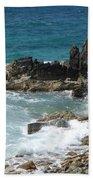 Ocean Spray Mid-air Beach Towel