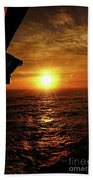 Ocean Sunset Beach Towel