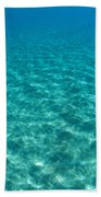 Ocean Surface Reflections Beach Towel