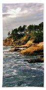 Oceanside - Depoe Bay Beach Towel