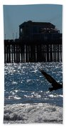 Oceanside Resident Photograph Beach Towel