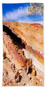 Ochre Pits #3 - West Mcdonald Ranges Beach Towel