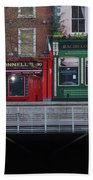 Oconnells Pub And The Batchelor Inn - Dublin Ireland Beach Towel