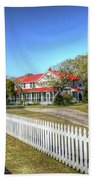 Ocracoke Lighthouse, Ocracoke Island, Nc Beach Towel