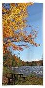 October Light Beach Sheet