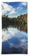 October Reflections Beach Towel