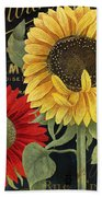 October Sun II Beach Towel