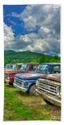 Odd Man Out Fords And Friend  Beach Towel
