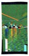 Of Time And The Savannah River Bridge Beach Sheet