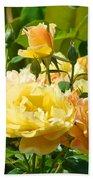 Office Art Rose Garden Giclee Prints Roses Baslee Troutman Beach Towel